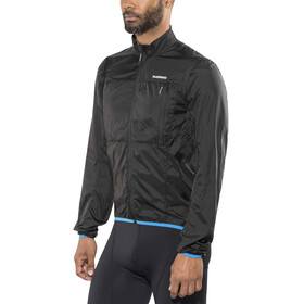 Shimano Hybrid Windbreaker Jacket Men Black
